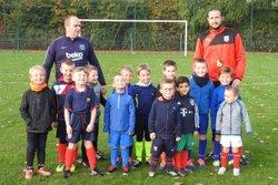 petit plateau entre nos U6/U7 - union sportive football Armbouts Cappel