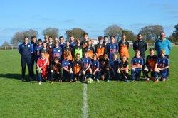 Victoire U15G -- 7-0 -- Coupe de Normandie contre l'USOC -- 20/10/18 - USLG Football