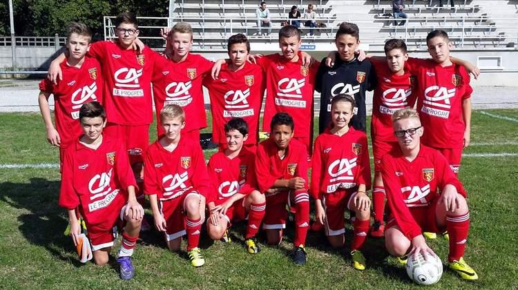 U15 / Équipe à 11