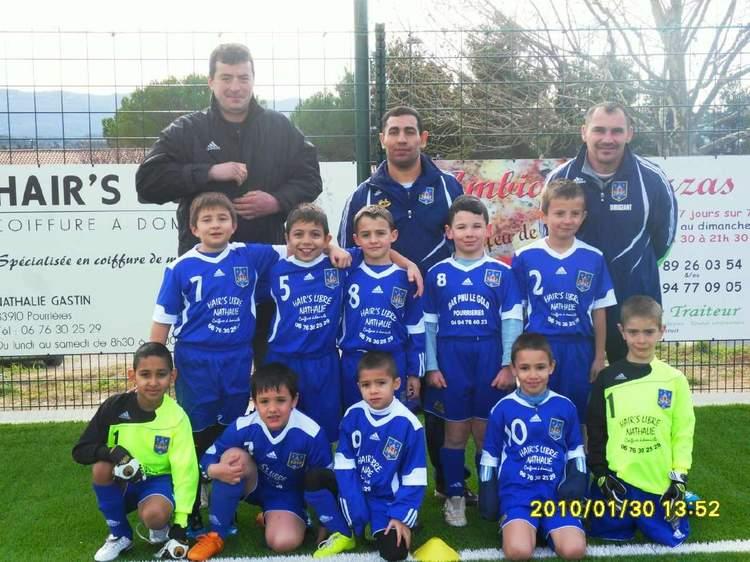 FC Pourrières débutant 1