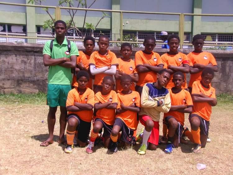 System 3 u-13 team