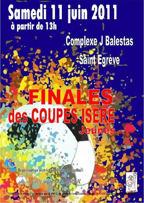 FINALES COUPE ISERE jeunes 2011
