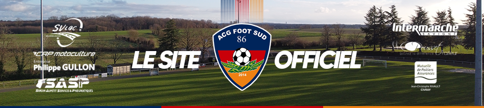 A.C.G. FOOT SUD 86 : site officiel du club de foot de CIVRAY - footeo