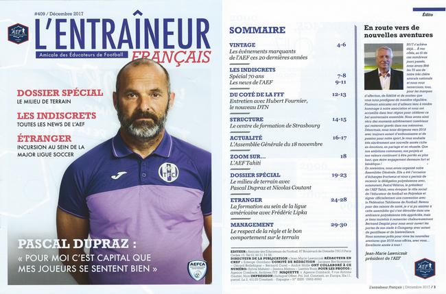 L'entraîneur français N°409