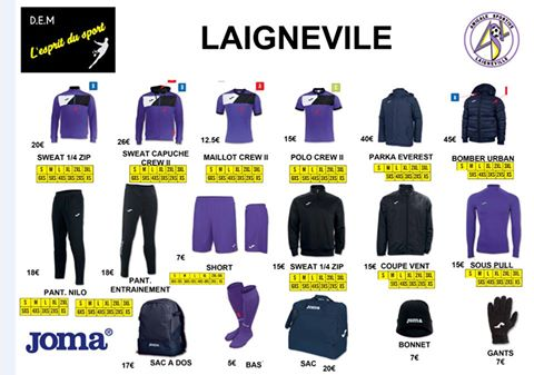 vitrine de Laigneville Football