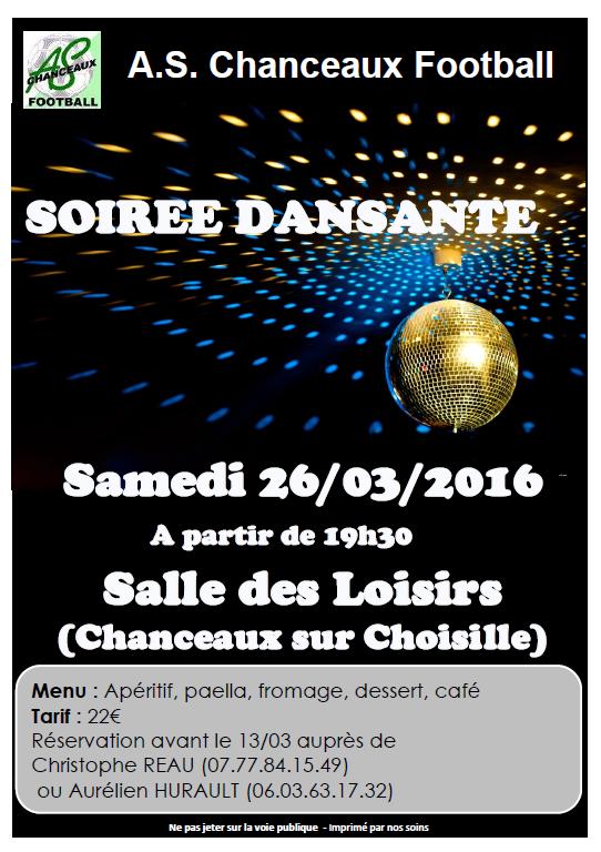 Soirée Dansante 26032016
