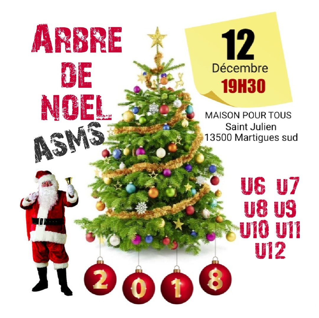 Arbre De Noel Maison agenda - arbre de noel de l' asms - club football as