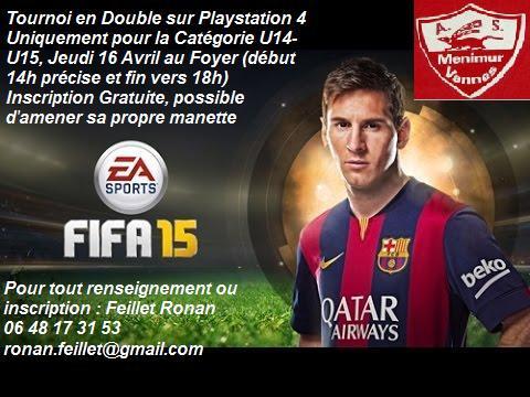 Tournoi Fifa 15 U14U15 ASM