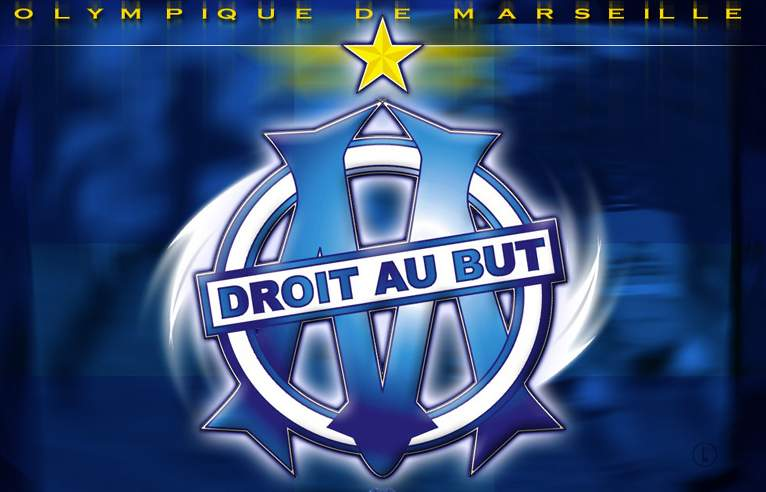 Olympique de marseille club football a s bellevue la - Marseille logo foot ...