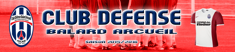 CLUB DEFENSE BALARD ARCUEIL : site officiel du club de foot de PARIS 15EME ARRONDISSEMENT - footeo