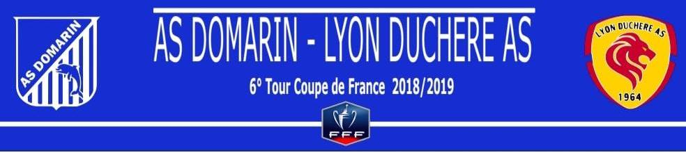 AS DOMARIN : site officiel du club de foot de DOMARIN - footeo