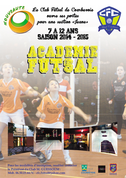Courbevoie Futsal Recrute