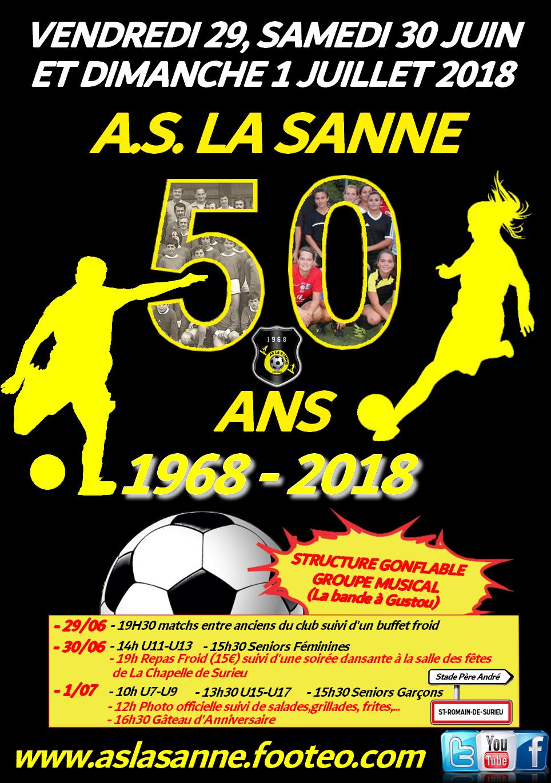 Affiche 50 ans