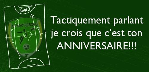 Joyeux Anniversaire à Club Football Association