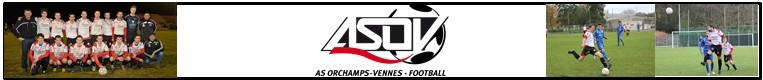 ASSOCIATION SPORTIVE ORCHAMPS VENNES : site officiel du club de foot de ORCHAMPS VENNES - footeo