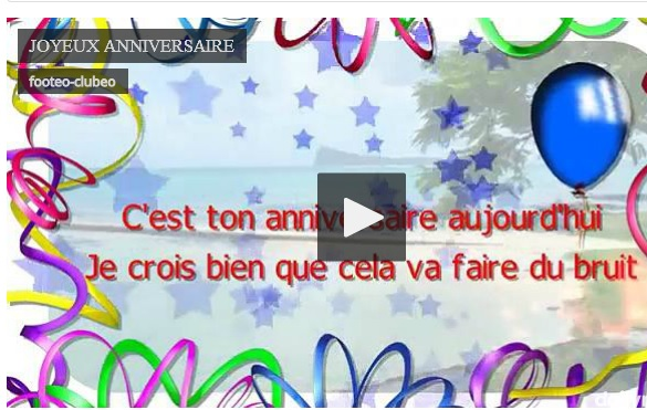 Actualite Bon Anniversaire Fabrice Club Football As St Eloi La