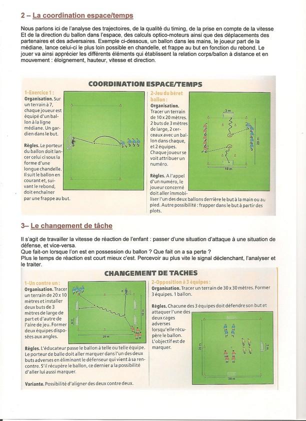 Exercices De Psychomotricite U7 A U11 Club Football Amicale Sportive De Saint Yrieix Footeo