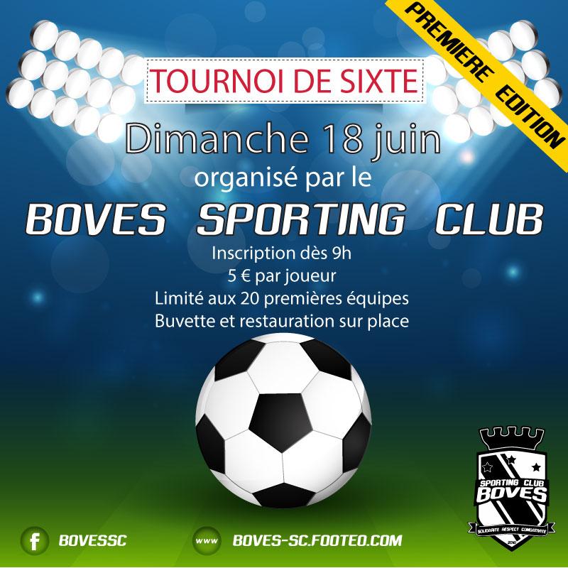 tournoi de sixte boves sporting club