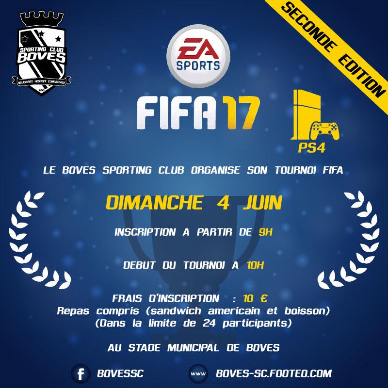 2ème édition tournoi fifa boves sporting club