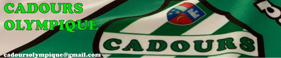 CADOURS Olympique : site officiel du club de foot de CADOURS - footeo