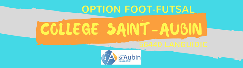 "Collège Saint-Aubin Option ""Foot-Futsal"" : site officiel du club de foot de Languidic - footeo"