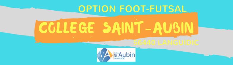 "Collège Saint-Aubin Option ""Foot-Futsal"" : site officiel du club de foot de Languidic - footeo"