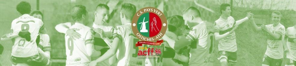 CS Pays Vert Ostiches Ath : site officiel du club de foot de Ostiches - footeo
