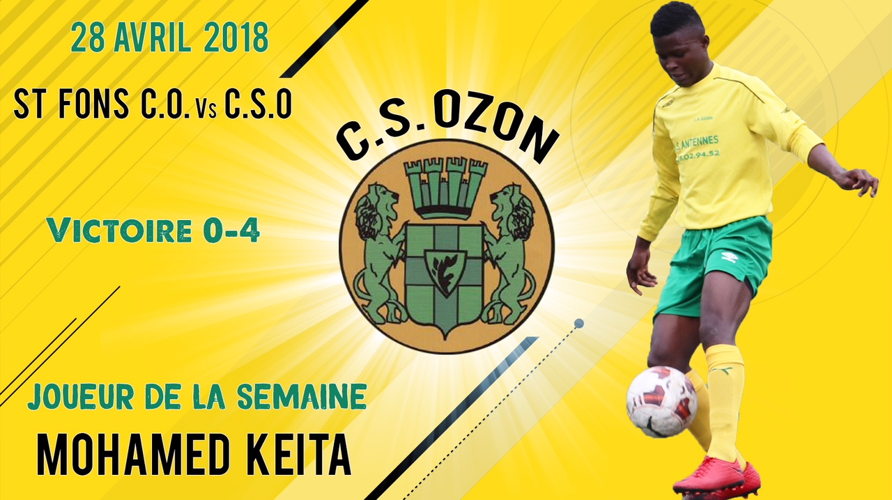 U15 - Joueur du Match M Keita
