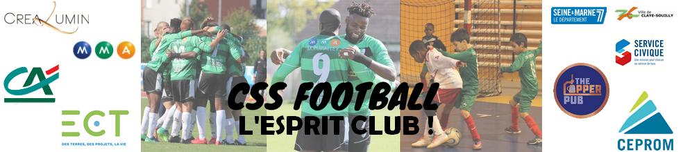 CLAYE-SOUILLY SPORTIF FOOTBALL : site officiel du club de foot de CLAYE SOUILLY - footeo
