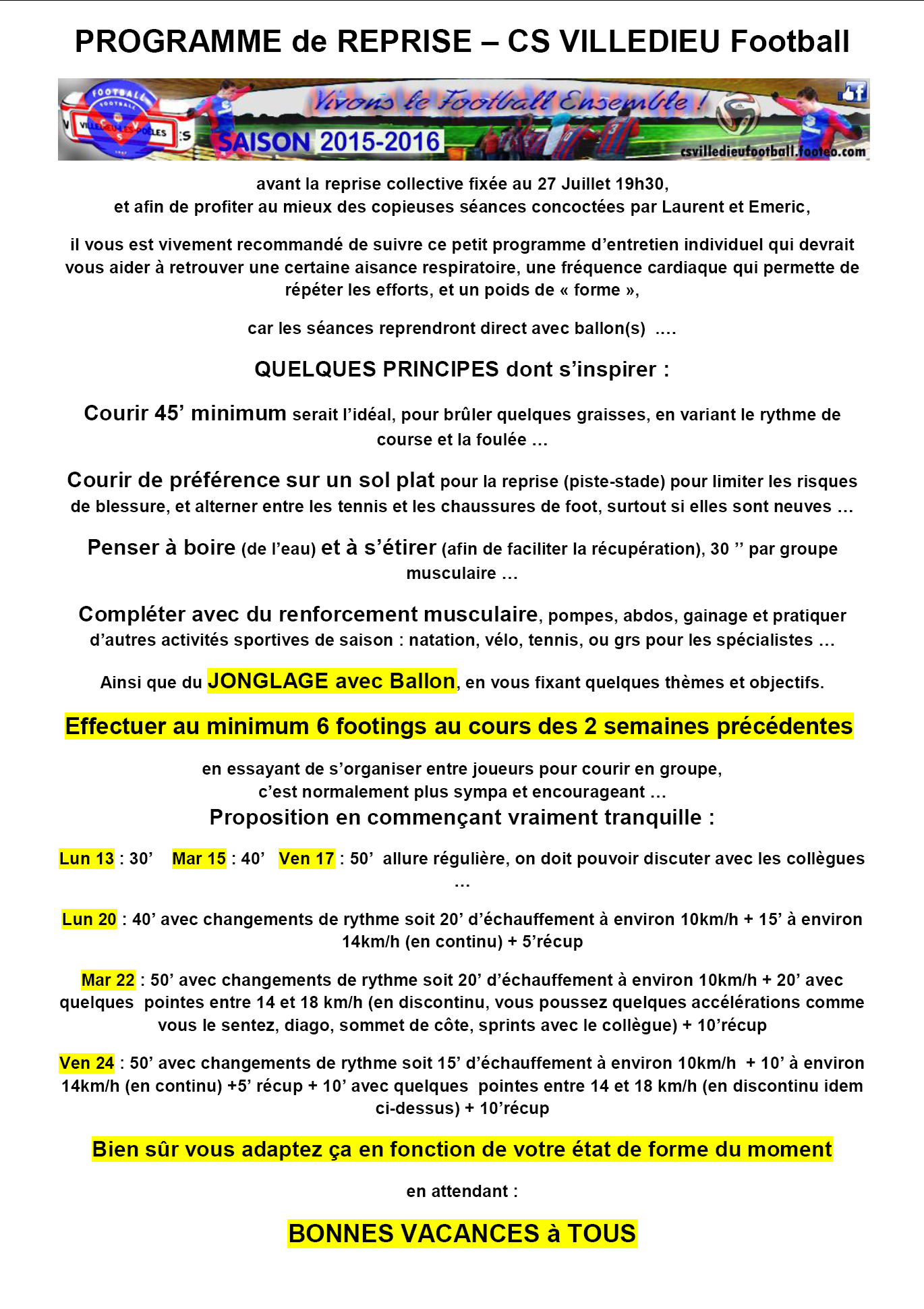 csv-programme-reprise-2015-cs villedieu