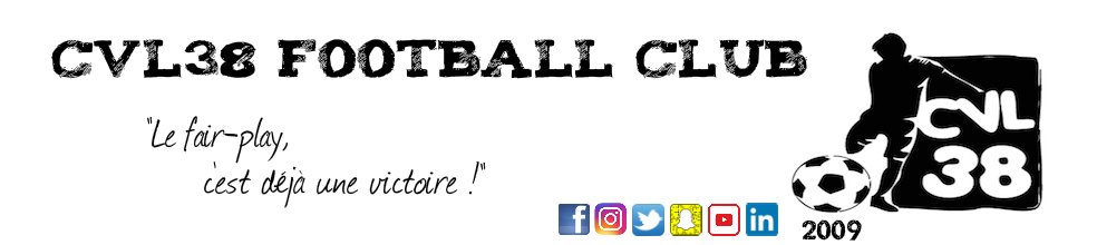 CVL38 FOOTBALL CLUB : site officiel du club de foot de Saint-Just-Chaleyssin - footeo