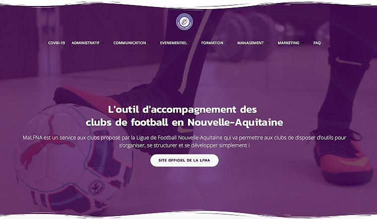 L'outil d'accompagnement des clubs de football en Nouvelle-Aquitaine