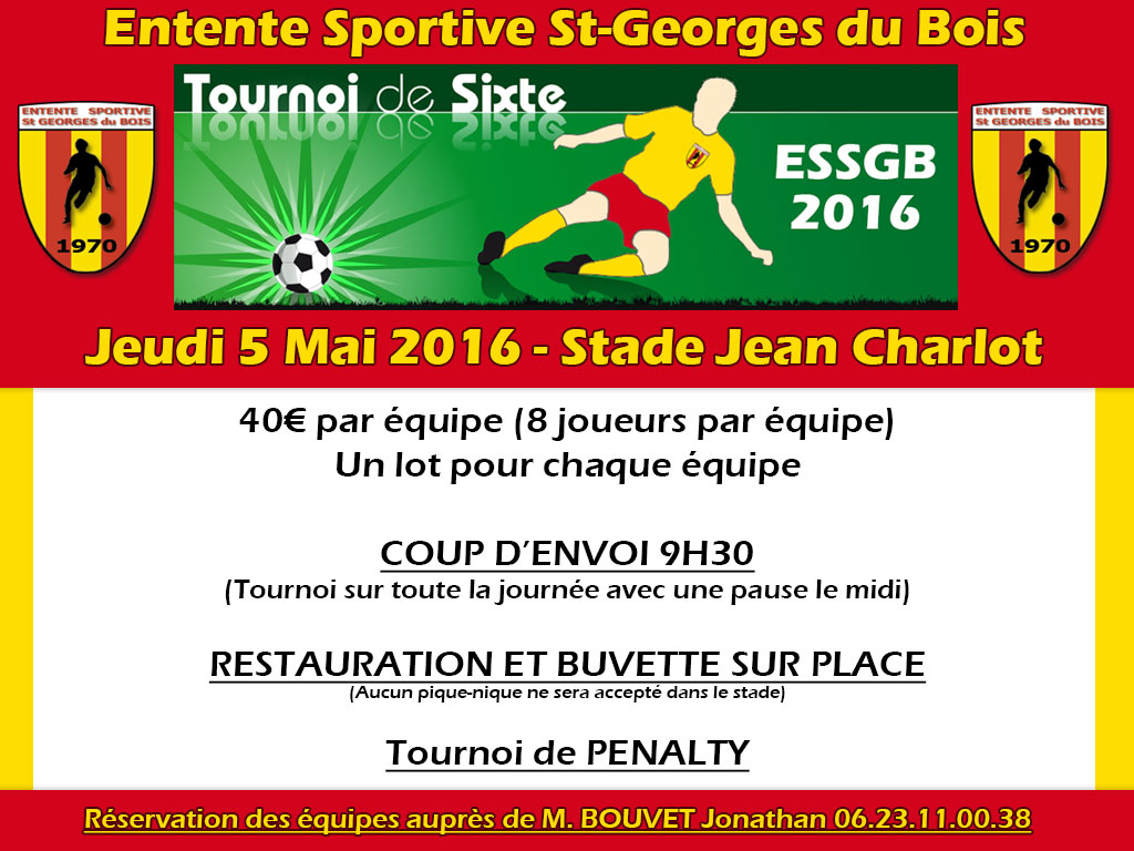 Flyers tournoi ESSGB 2016
