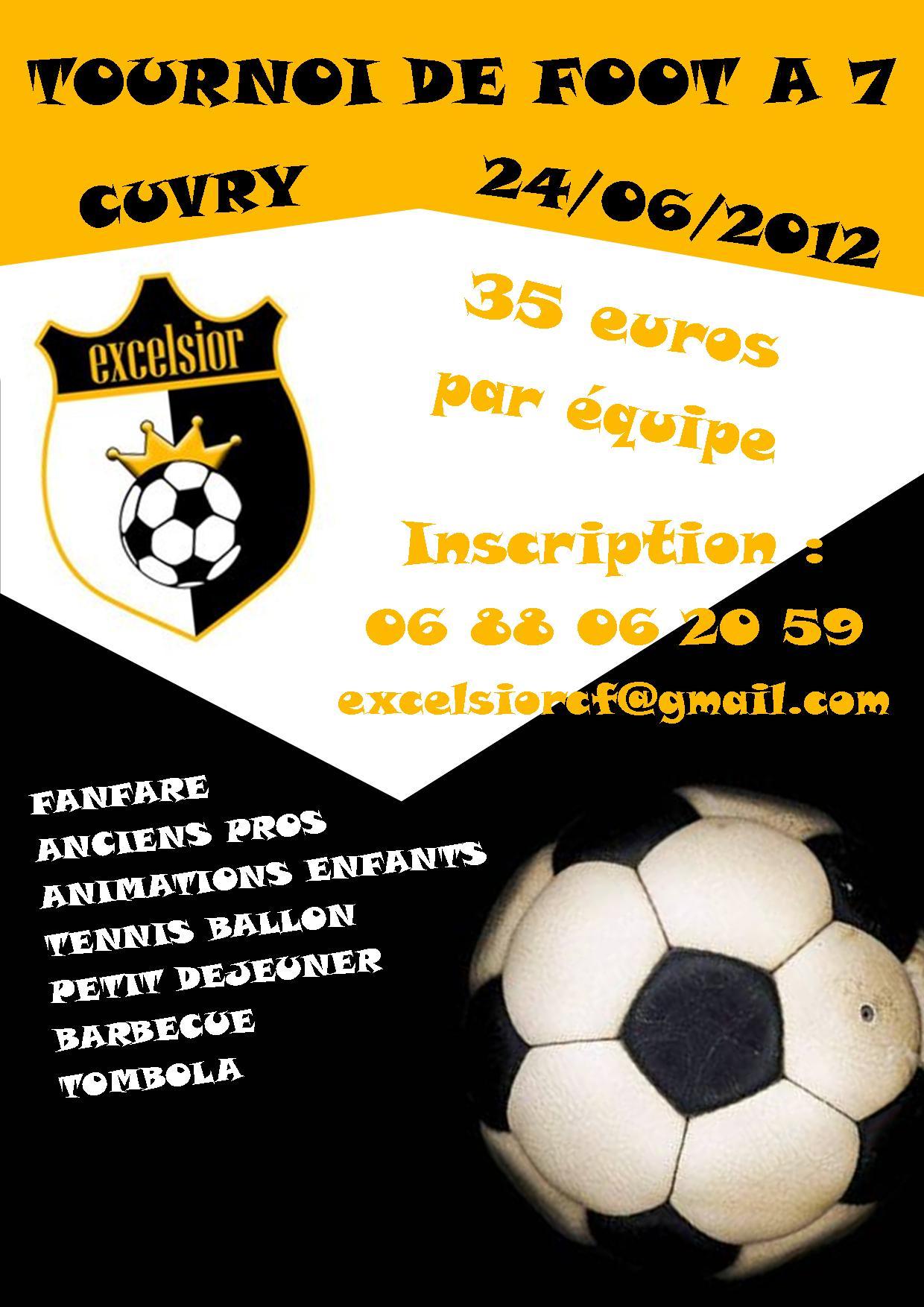 affiche tournoi excelsior 2012