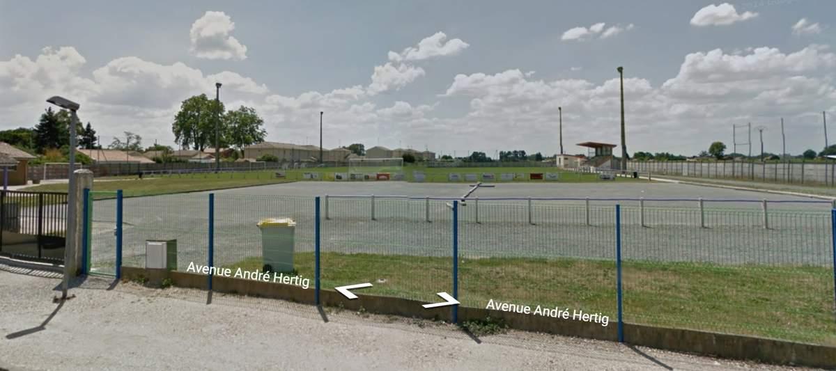 Terrain Stade Municipal De Ludon Medoc