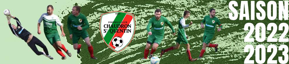 FOOTBALL CLUB CHAUDRON SAINT QUENTIN : site officiel du club de foot de Saint Quentin-en-Mauges - footeo