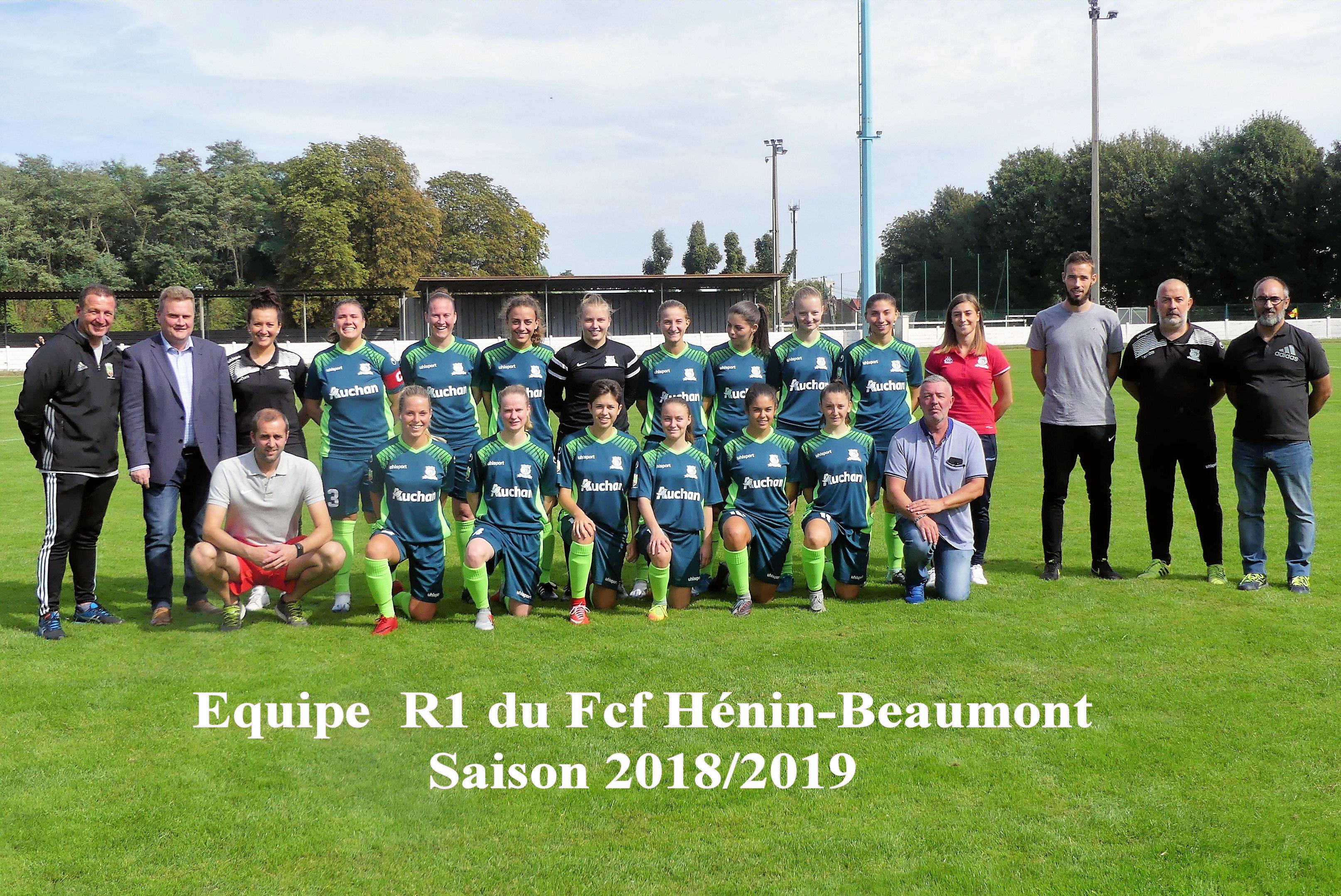 Présentation officielle équipe R1 d'Hénin-Beaumont