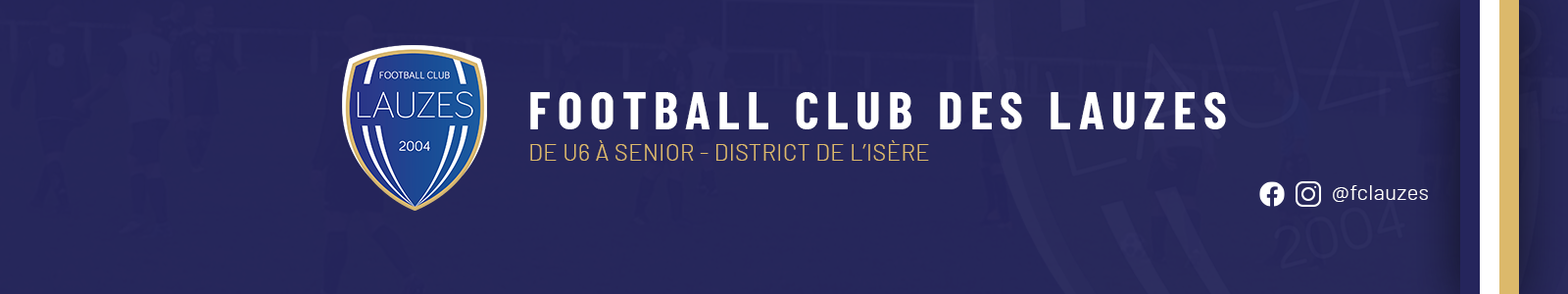 FOOTBALL CLUB DES LAUZES : site officiel du club de foot de TREPT - footeo