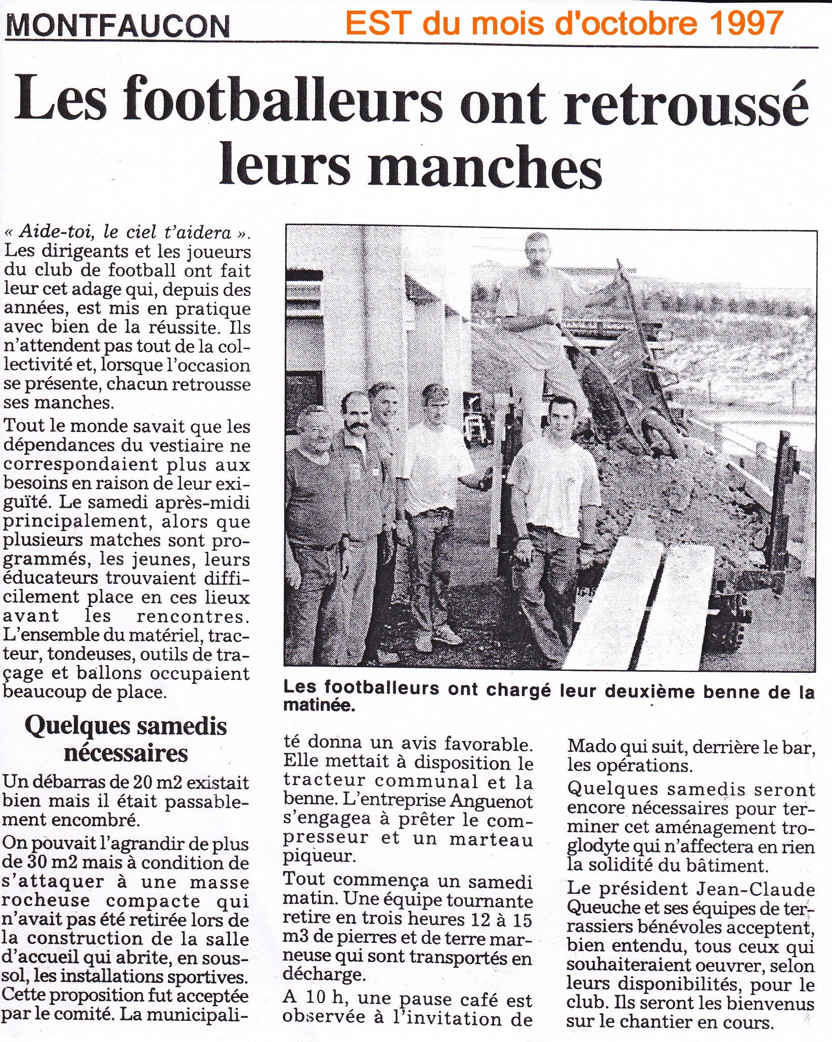 EST d'octobre 1997