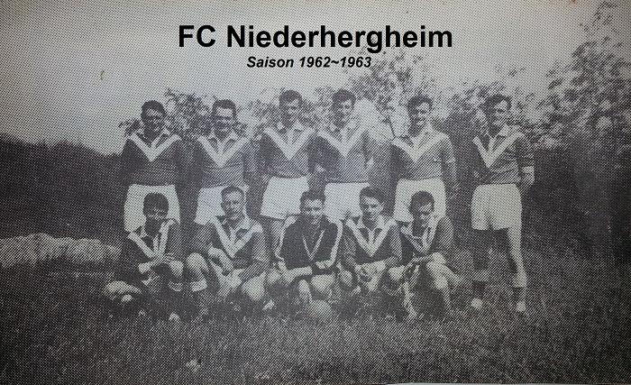 1962 - 1963 - FC Niederhergheim