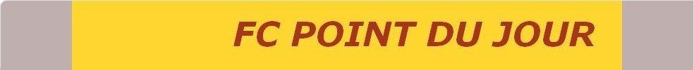 FOOTBALL CLUB  POINT DU JOUR : site officiel du club de foot de LYON - footeo