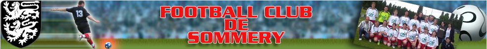 FOOTBALL CLUB DE SOMMERY : site officiel du club de foot de SOMMERY - footeo