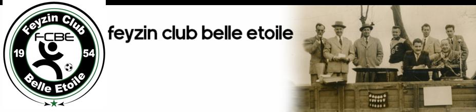 FEYZIN CLUB BELLE ETOILE : site officiel du club de foot de FEYZIN - footeo