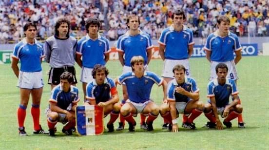 Actualit retro france br sil 1986 au bout du - Ballon coupe du monde 1986 ...