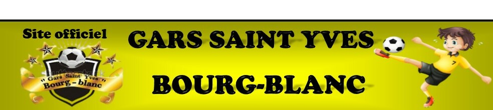 Gars Saint Yves Bourg-Blanc : site officiel du club de foot de bourg-blanc - footeo