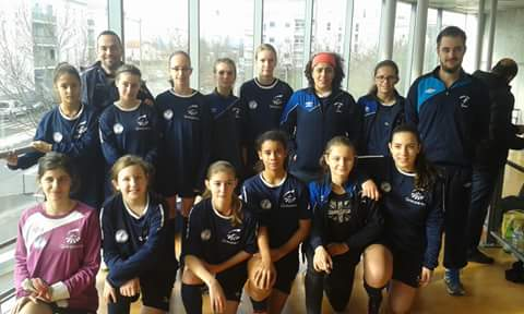 U15 F & U13 F tournoi FC Vaulx