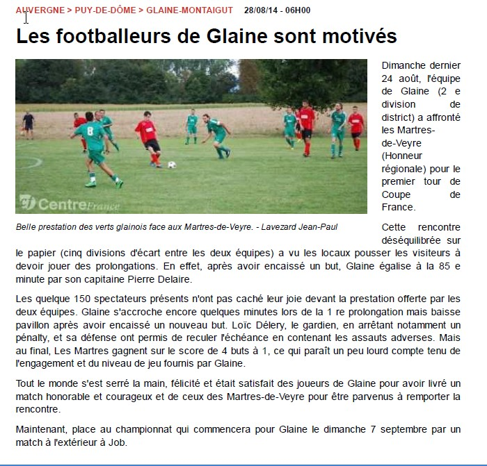 article la Montange