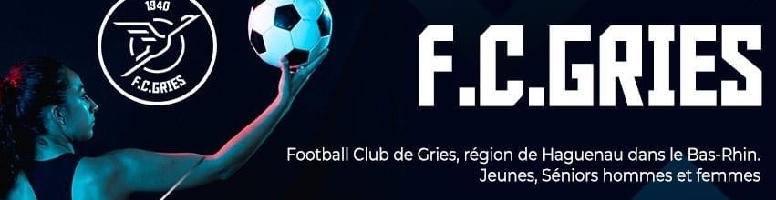 F.C. Gries : site officiel du club de foot de GRIES - footeo