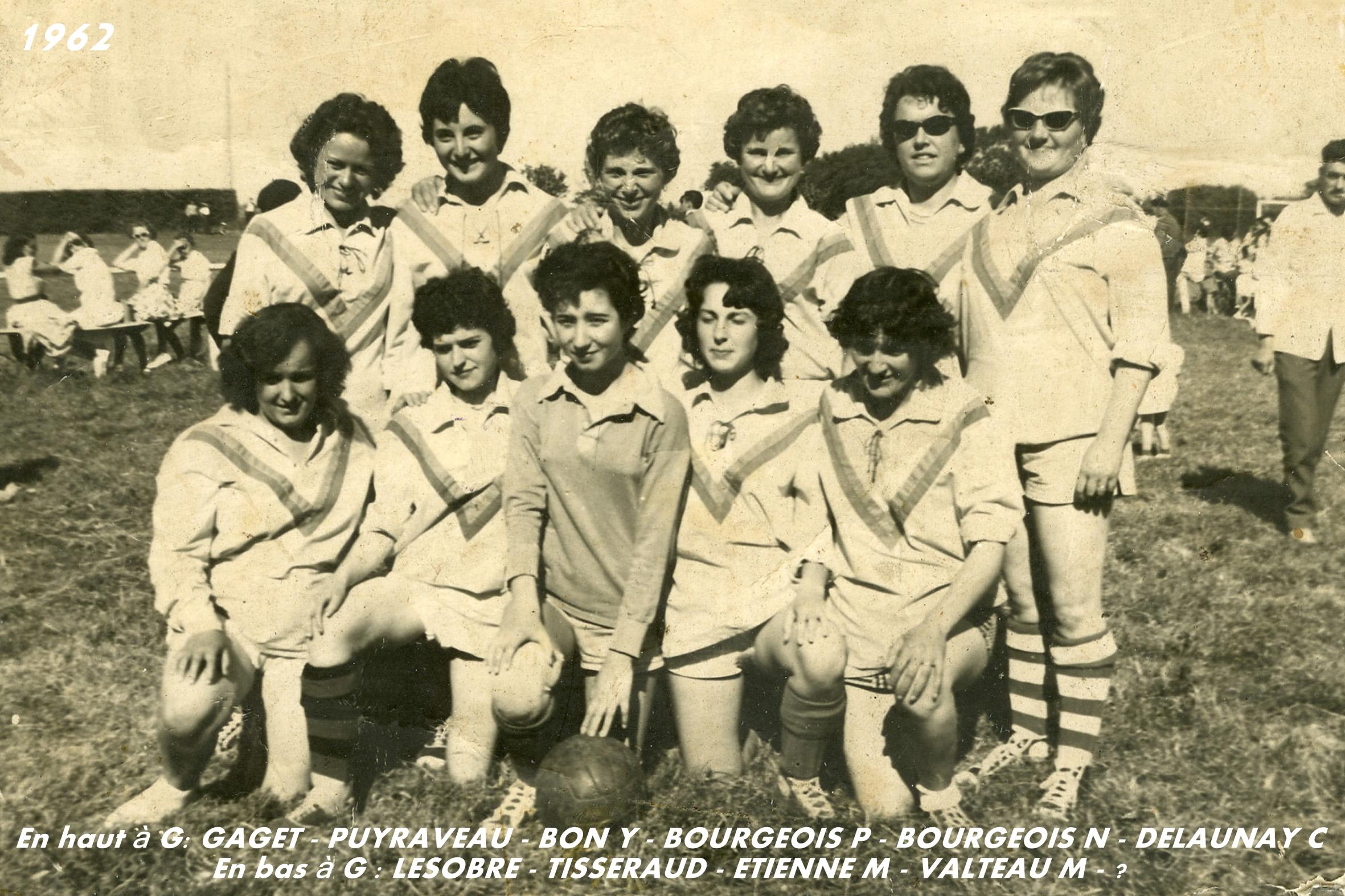 Match amical féminin - 1962