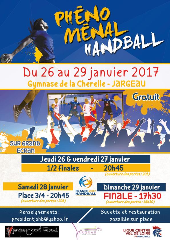 """affiche """"phénoménal handball"""""""